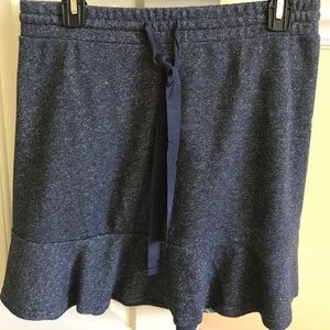 Glitter stretch skirt size medium